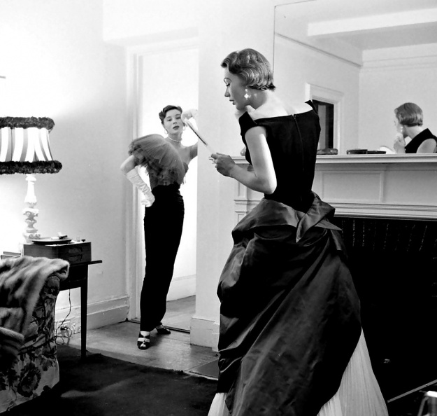 1950. Bettina Graziani and Sophie Malgat Litvak by Gordon Parks - p1085.jpg