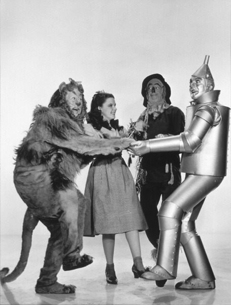 1939. Publicity photos for The Wizard Of Oz - p840